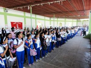 Opening ceremonies: Segunda Feria Vocacional de Olmos
