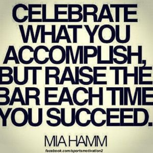 celebrate your accomplishments